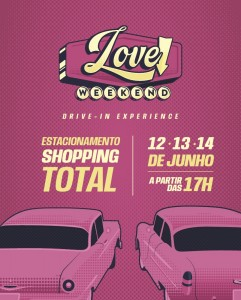 Shopping TOTAL terá Drive-In no final de semana de Dia dos Namorados